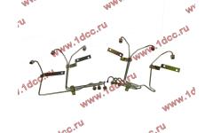 Трубки высокого давления на форсунки H2, комплект 6шт