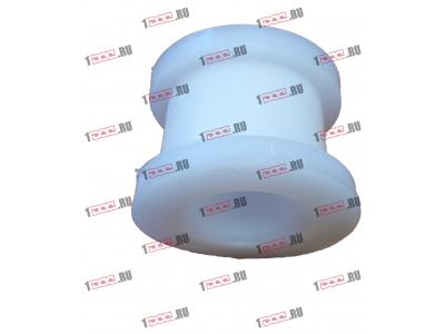 Втулка фторопластовая (передняя, кабина AZ1642430263) H2/H3 HOWO (ХОВО) AZ1642430261 фото 1 Пермь