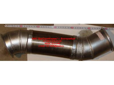 Гофра-труба выхлопная 8х4 d=120 H2/H3 HOWO (ХОВО) WG9731540002 фото 1 Пермь
