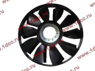 Вентилятор радиатора на гидромуфту d-590 H HOWO (ХОВО) VG1500060047 фото 1 Пермь