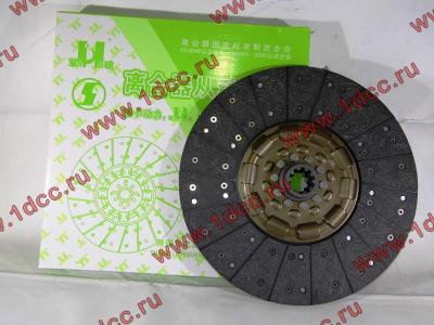 Диск сцепления ведомый 420 мм H2/H3 HOWO (ХОВО) WG1560161130 фото 1 Пермь