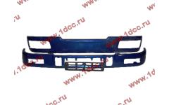 Бампер C синий верхний+нижний (в сборе) фото Пермь