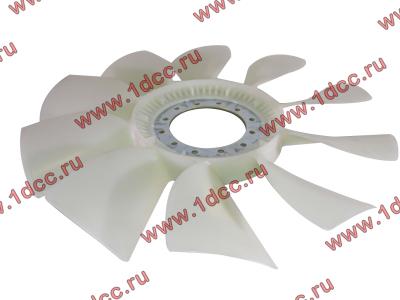 Вентилятор радиатора (на гидромуфту) без кольца d-590 H HOWO (ХОВО) 61500060131