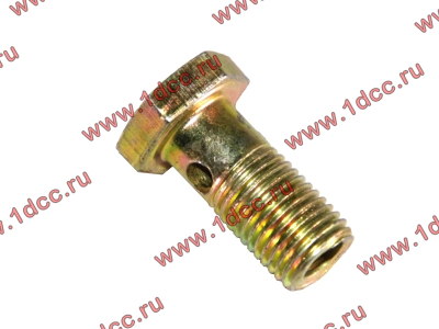 Болт пустотелый М12х1,25 (штуцер топливный) H HOWO (ХОВО) 90003962607 фото 1 Пермь