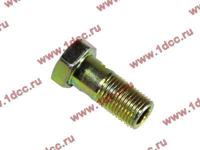 Болт пустотелый М10х1,0 (штуцер топливный) H HOWO (ХОВО) 81500070054 фото 1 Пермь