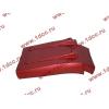 Брызговик передней оси правый H3 красный HOWO (ХОВО) WG1642230104 фото 4 Пермь