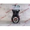 Компрессор пневмотормозов 2-х цилиндровый WABCO H3 HOWO (ХОВО) VG1099130010 фото 5 Пермь